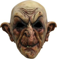 Creepy Heksen Masker Latex Luxe