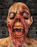 Mega Zombie Masker Latex Luxe -2