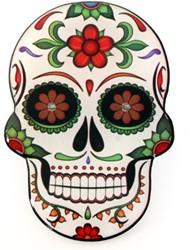 Broche Sugar Skull - Day of the Dead met licht