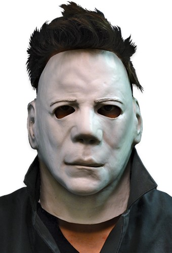 Halloween II - Michael Myers Gezichtsmasker Latex