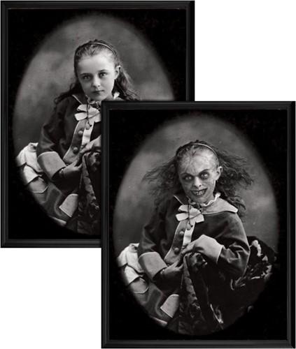 Horro Schilderij Jong Meisje (Holografisch)
