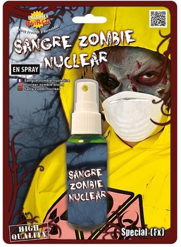 Zombie Bloed Spray Groen (45ml)