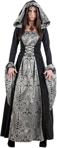 Damesjurk Gothic Cassandra Zwart