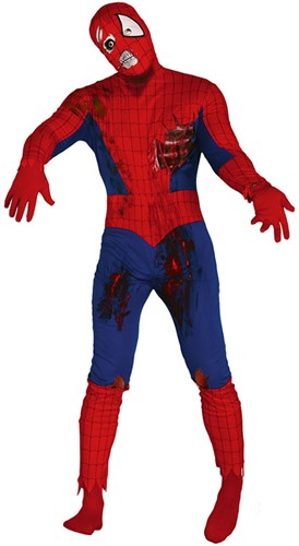 Halloween Herenkostuum Zombie Spiderman