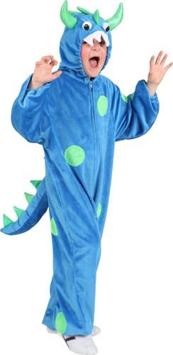Monsterpakje Blauw Pluche