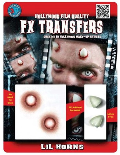 Professionele Schminkset Special FX - Duivel Hoorntjes