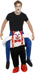 Piggyback Kostuum Creepy Clown