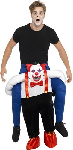 Piggyback Kostuum Creepy Clown