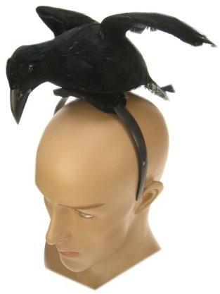 Diadeem Kraai Zwart