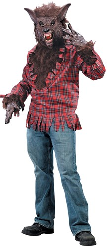 Halloween Kostuum Weerwolf (4 delig)