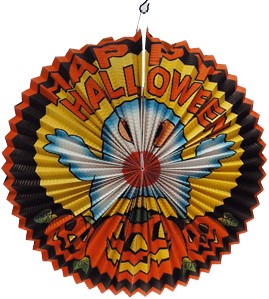 Lampion Happy Halloween Ø40cm BV