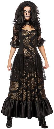 Damesjurk Victoriaanse Dame Luxe (Halloween)