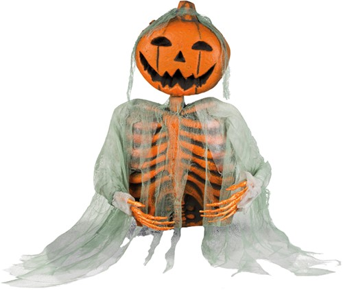 Deco Skelet Mr. Pumpkin (52cm)