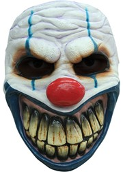 Big Mouth Clown Gezichtsmasker (latex)
