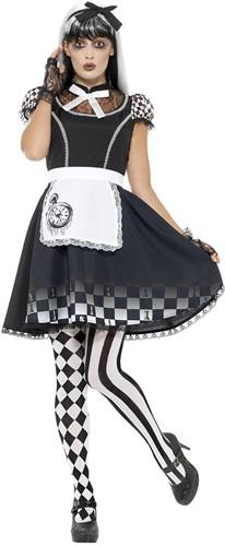 Dameskostuum Dark Alice
