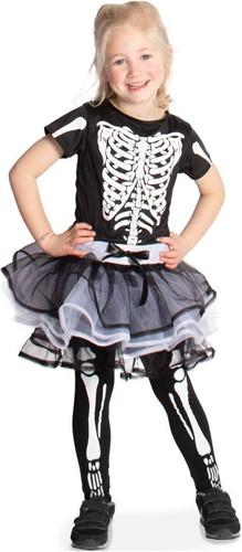 Skeletten Jurkje met Tutu voor meisjes