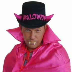 Hoed Halloween Zwart