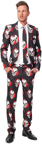 Suitmeister Herenkostuum Halloween Skulls Blood