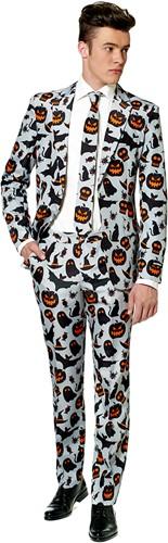Suitmeister Herenkostuum Halloween Grey Icons