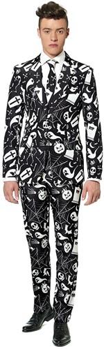 Suitmeister Halloween Herenkostuum Black Icons