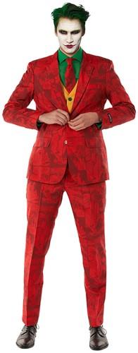 Heren Suitmeister Scarlet Joker ™ Kostuum