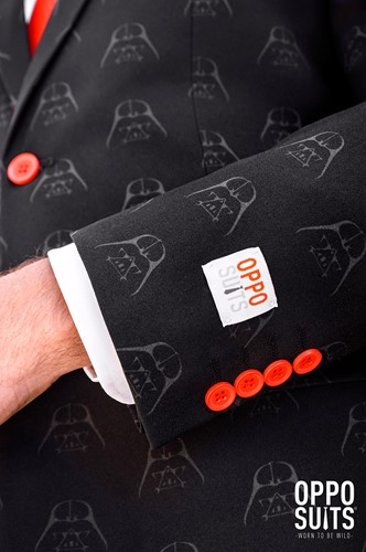 Herenkostuum OppoSuits Darth Vader™ (Star Wars™) (detail 2)