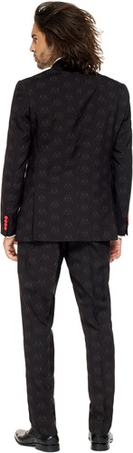 Herenkostuum OppoSuits Darth Vader™ (Star Wars™) (achterkant)