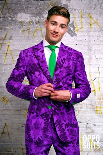 Herenkostuum OppoSuits The Joker ™ (sfeerbeeld)