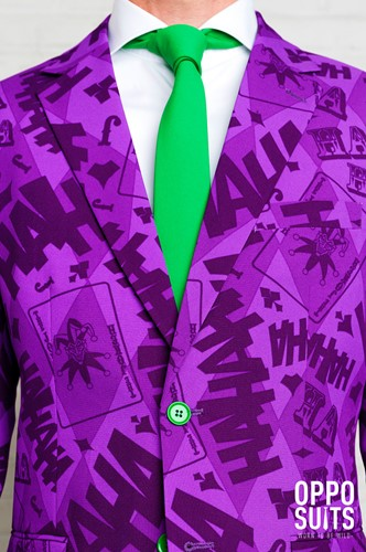 Herenkostuum OppoSuits The Joker ™ (detail)