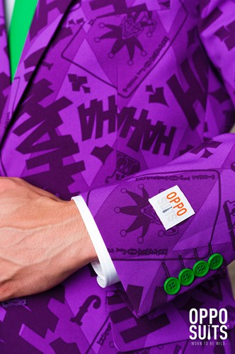 Herenkostuum OppoSuits The Joker ™ (detail 2)