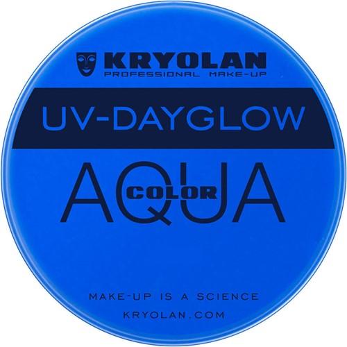 UV-Dayglow 15 ml KRYOLAN Blauw Aquacolor