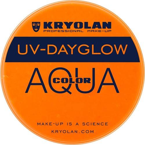 UV-Dayglow 15 ml KRYOLAN Oranje Aquacolor