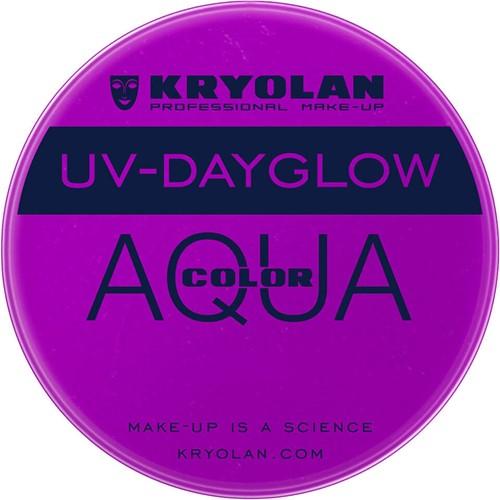 Kryolan Aquacolor UV-Dayglow Paars 8 ml