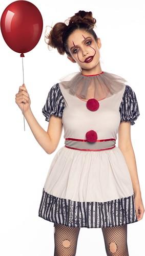 Dameskostuum Penny Creepy Clown